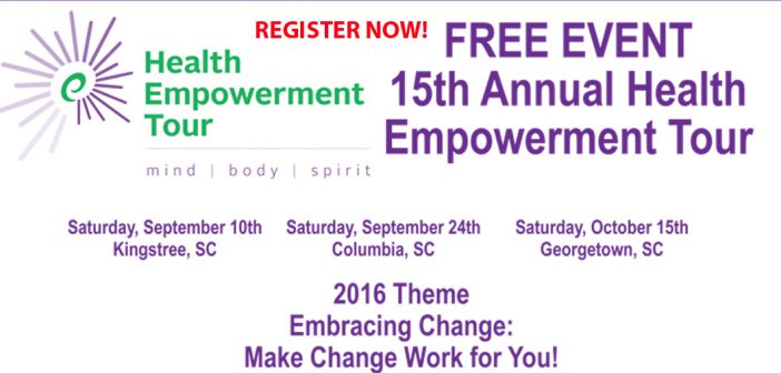 Register for Health Empowerment Tour 2016